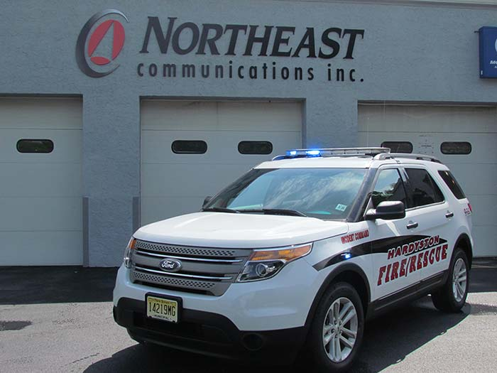 Public Safety Vehicle Build Out Services